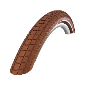 "SCHWALBE Big Ben - Pneu vélo - Active 28"" K-Guard Twin rigide marron"